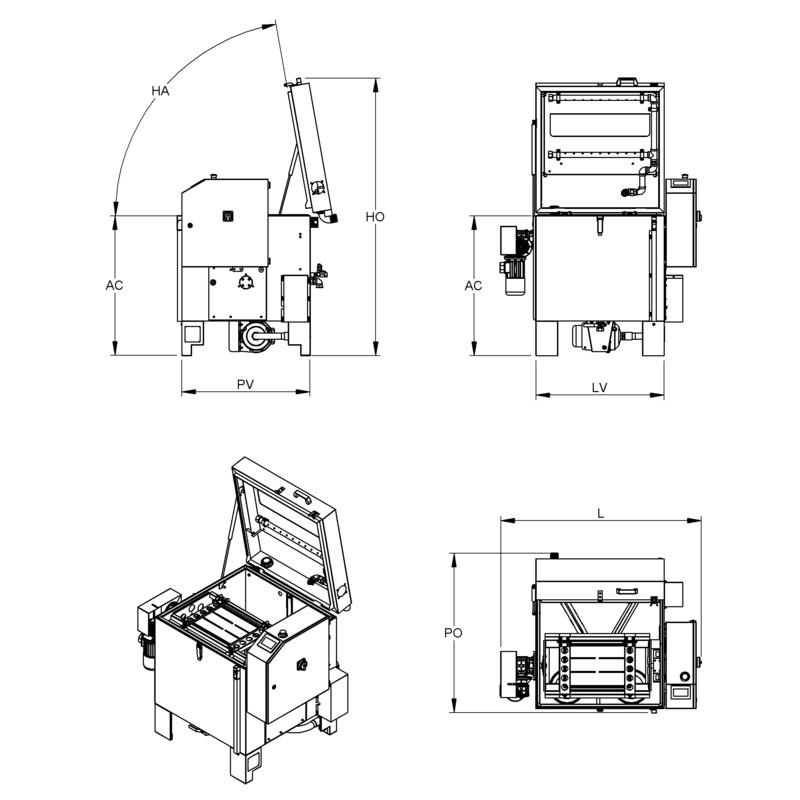 Lavametalli / Lavapezzi Teknox TWISTER