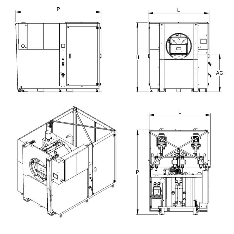 Lavapezzi / Lavametallli Teknox ROTTOR 1 B
