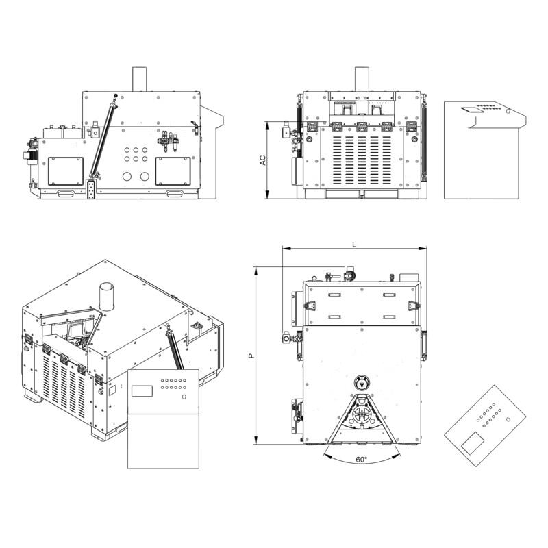 Lavapezzi / Lavametalli Teknox Roundjet