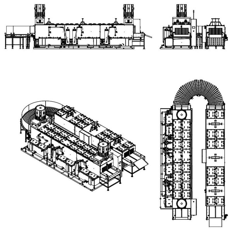Lavapezzi / Lavametalli Teknox TUNNEL U