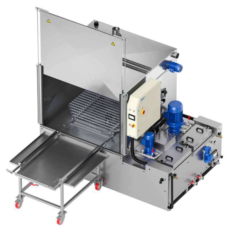 Lavapezzi  / Lavametalli industriale Teknox  ROBUR 2B