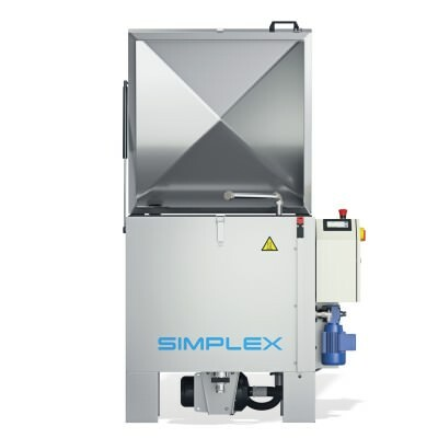 SIMPLEX 60/80 Parts washers with rotary basket