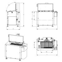 Lavapezzi  / Lavametalli ad ultrasuoni Teknox serie K