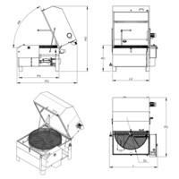 Lavapezzi / Lavametalli Teknox SIMPLEX MEDIUM