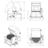 Lavapezzi  / Lavametalli industriale Teknox  UNIX 2B