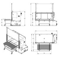 Lavapezzi / Lavametalli Teknox LINEARJET